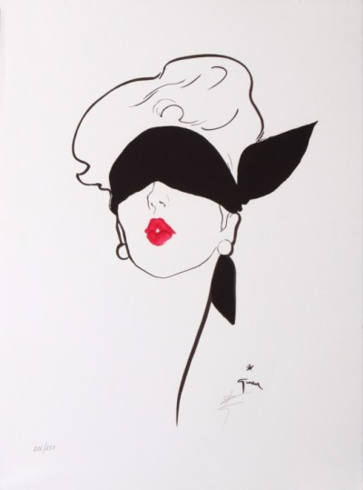 For sale: DIOR ROUGE BAISER  LITHOGRAPHIE ORIGINALE