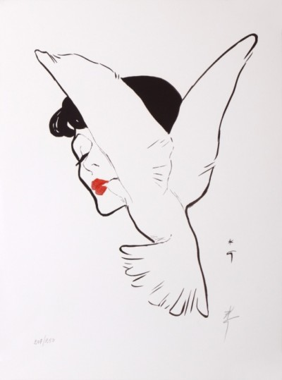 For sale: DIOR LE BAISER DE COLOMBE LITHOGRAPHIE ORIGINALE