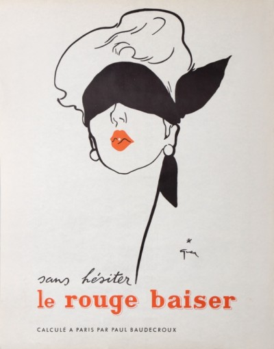 For sale: DIOR LE ROUGE BAISER SANS HESITER  PARIS PAR PAUL BAUDECROUX