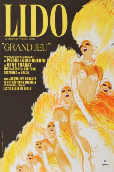 For sale: LIDO REVUE GRAND JEU CHAMPS-ELYSEES