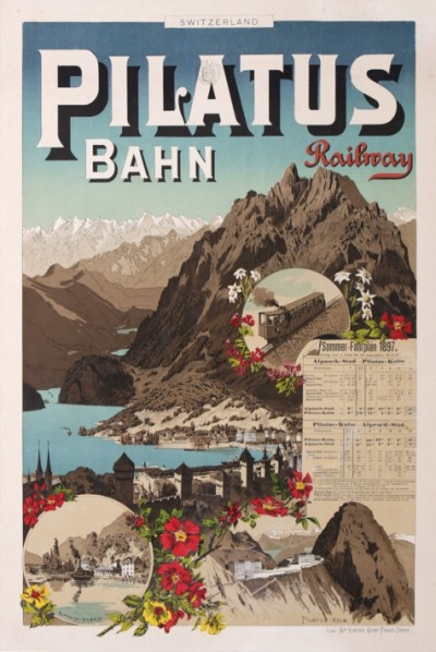 For sale: PILATUS BAHN -RAILWAY- SWITZERLAND by the ART INSTITUT