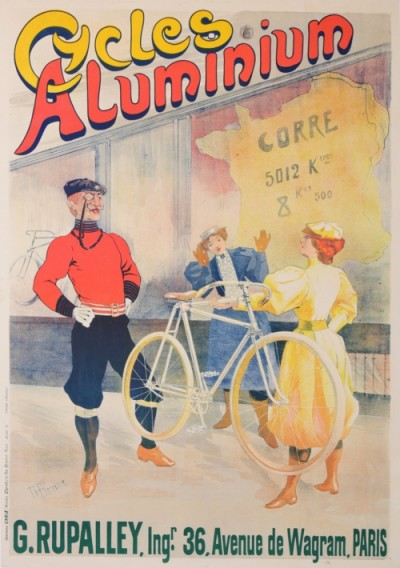 For sale: CYCLES ALUMINIUM - affiche par TIBEVILLE