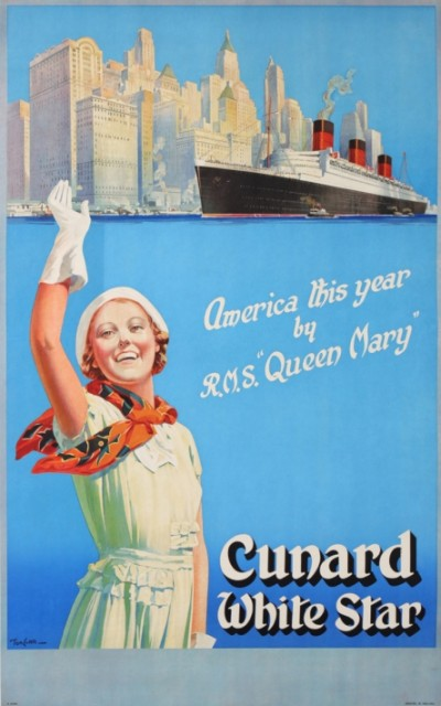 For sale: UNARD WHITE STAR QUEEN MARY