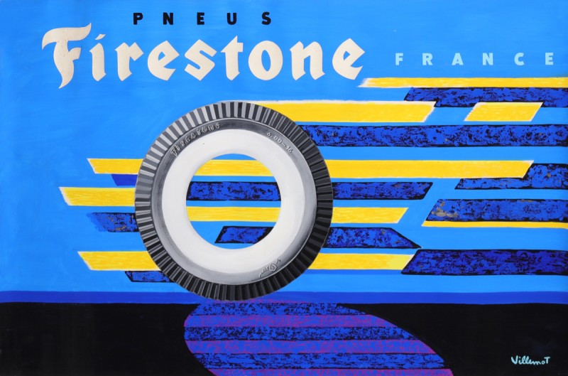 For sale: FIRESTONE PNEUS AUTOMOBILE  CARS TIRES  MAQUETTE ORIGINALE
