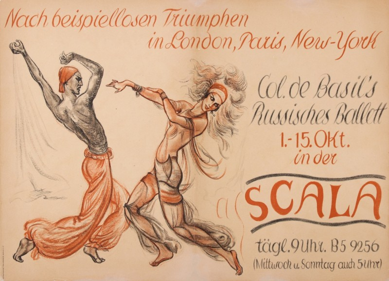 For sale: BALLETS RUSSES LA SCALA
