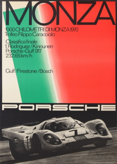 For sale: PORSCHE 1000 CHILOMETRI DI MONZA
