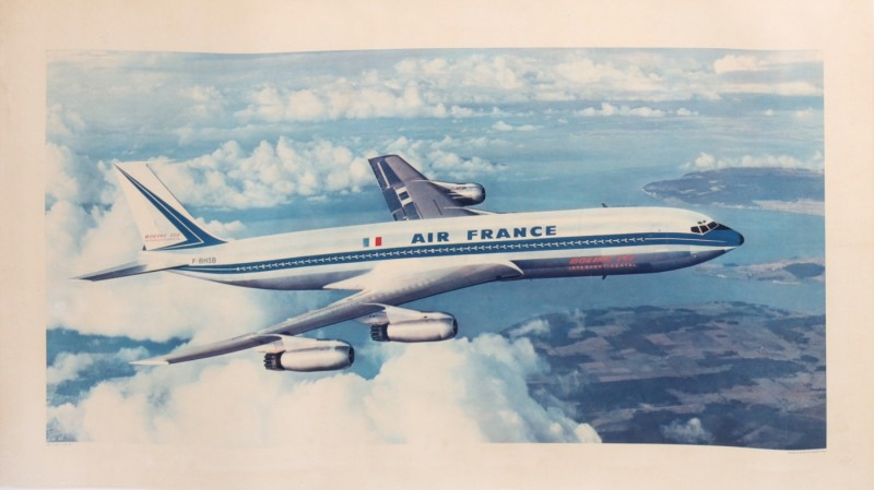 For sale: AIR FRANCE  F BHSB  CHATEAU DE CHAMBORD  BOEING 707-328  INTERCONTINENTAL