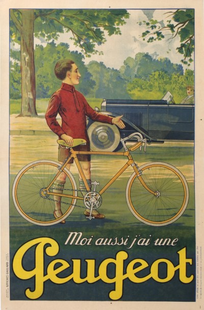 For sale: PEUGEOT  CYCLES ET AUTOMOBILES