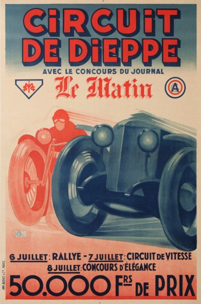 For sale: CIRCUIT DE DIEPPE COURSE AUTOMOBILE ACF