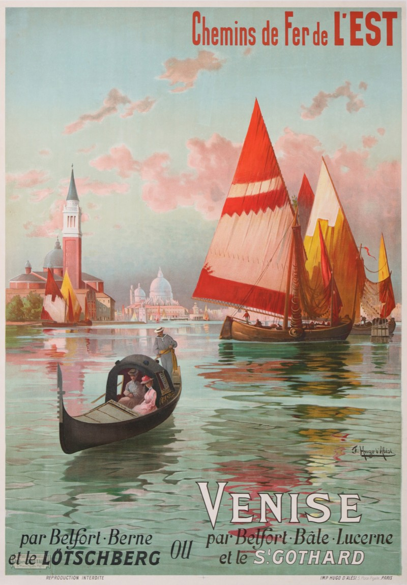 For sale: CHEMIN DE FER DE L'EST - VENISE