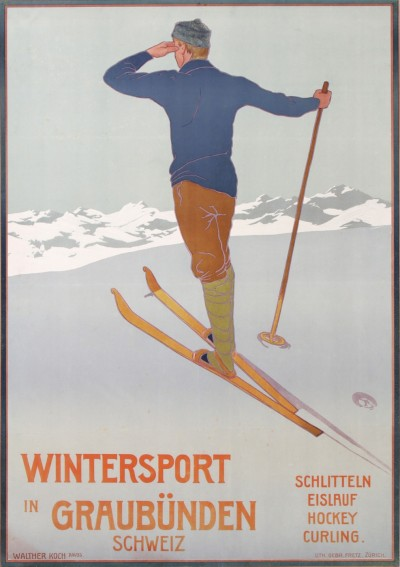 For sale: WINTERSPORT  IN GRAUBÛNDEN SCHWEIZ SUISSE  SWITZERLAND