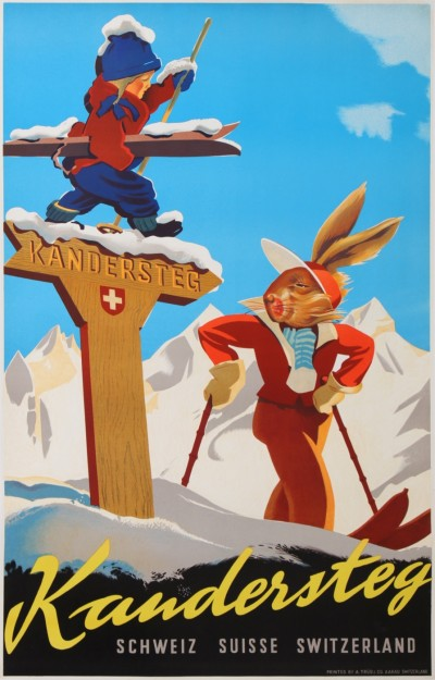 For sale: KANDERDERSTEG SKI SUISSE SWITZERLAND