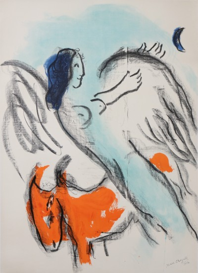 For sale: EXPOSITION CHAGALL ANGE 1956 KUNSTHALLE BERN