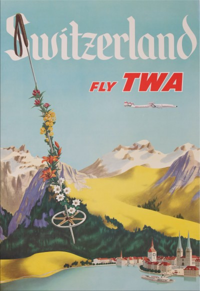 For sale: SWITZERLAND  FLY TWA