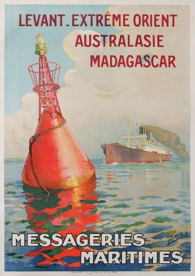 For sale: MESSAGERIES MARITIMES LEVANT EXTREME ORIENT AUSTRALASIE MADAGASCAR