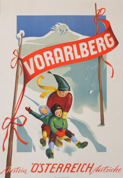 For sale: VORARLBERG OSTERREICH  LAND OF WINTERSPORT AUTRICHE AUSTRIA