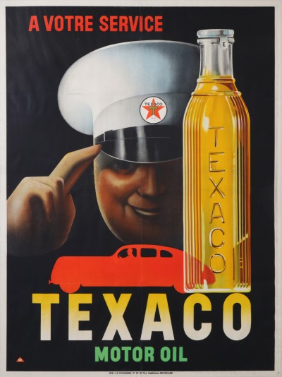 For sale: TEXACO A VOTRE SERVICE  MOTOR OIL