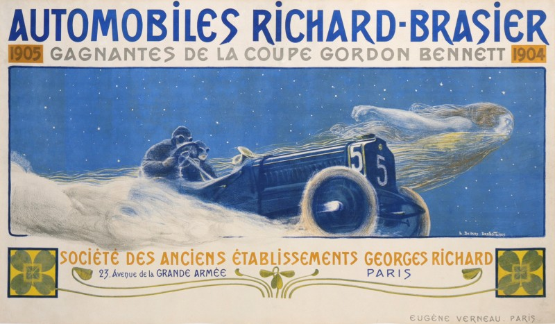 For sale: AUTOMOBILES RICHARD BRASIER GAGNANTES DE LA  COUPE GORDON BENNETT 1904 -1905
