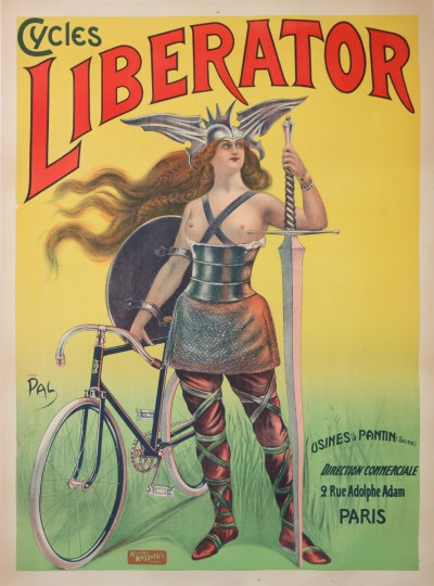 For sale: LIBERATOR CYCLES USINE A PANTIN