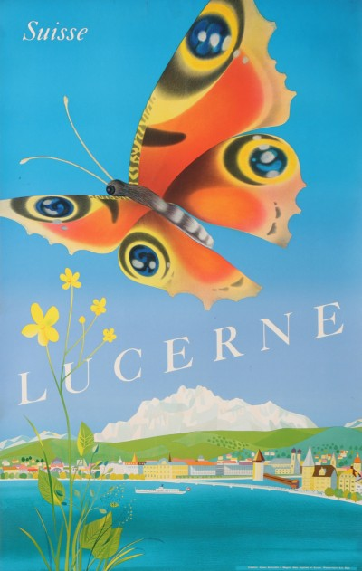 For sale: LUCERNE SUISSE BUTTERFLY