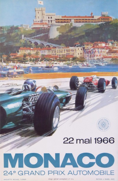 For sale: MONACO GRAND PRIX AUTOMOBILE 22 MAI1966