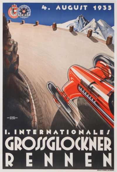 For sale: 1er INTERNATIONALES GROSSGLOCKNER RENNEN  4 AUGUST 1935 ALFA ROMEO P3