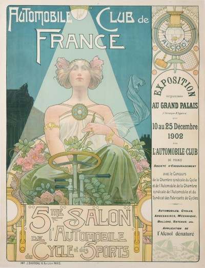For sale: AUTOMOBILE CLUB DE FRANCE 5eme SALON DE L'AUTOMOBILE DU CYCLE ET DES SPORTS GRAN