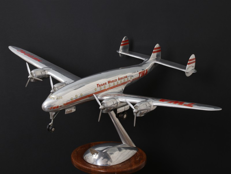 For sale: TWA  SUPER CONSTELLATION  N6004C. MAQUETTE D'AGENCE  DOUGLAS FACTORY
