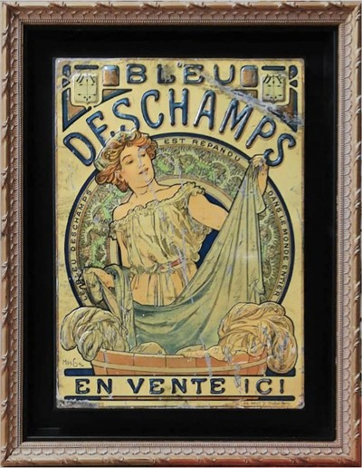 For sale: MUCHA BLEU DESCHAMPS