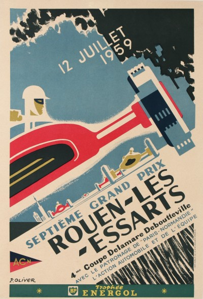For sale: 12 JUILLET 1959 SEPTIEME GRAND PRIX AUTOMOBILE ROUEN LES ESSARTS