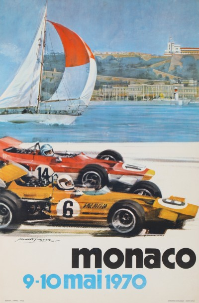 For sale: GRAND PRIX AUTOMOBILE DE MONACO 9 - 10 MAI 1970