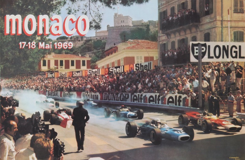 For sale: GRAND PRIX AUTOMOBILE DE MONACO 17 - 18 MAI 1969