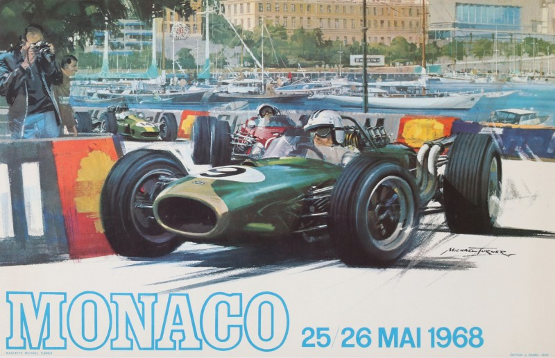For sale: 25-26 MAI 1968 GRAND PRIX AUTOMOBILE MONACO