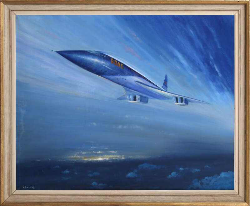 For sale: BOAC CONCORDE by WALLER