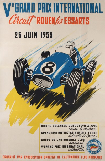 For sale: Ve GRAND PRIX AUTOMOBILE CIRCUIT ROUEN LES ESSARTS
