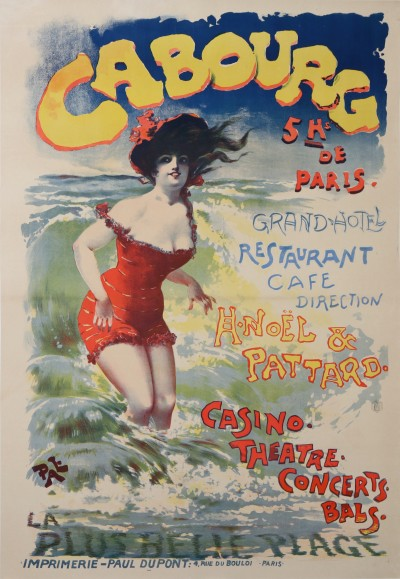 For sale: CABOURG CASINO - THEATRE CONCERTS BALS PLAGE