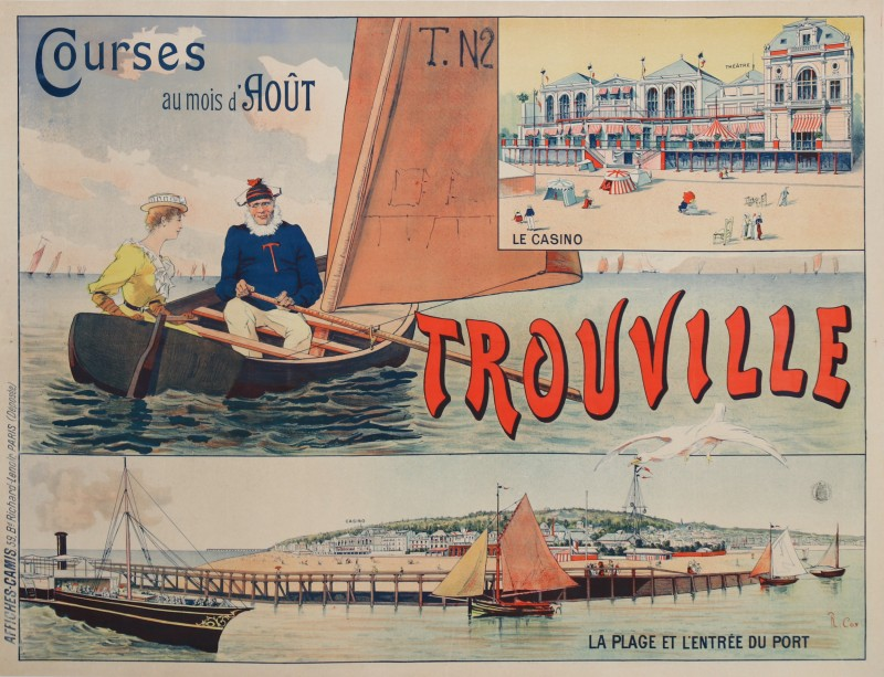 For sale: TROUVILLE COURSES AU MOI D'AOUT - CASINO - PLAGE