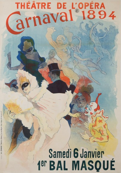 For sale: THEATRE DE L OPERA CARNAVAL 1894 BAL MASQUE