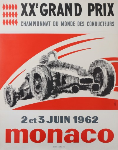 For sale: MONACO XXe GRAND PRIX AUTOMOBILE