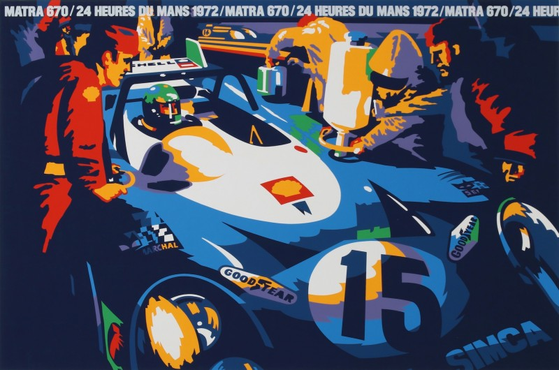 For sale: 24H DU MANS 1972 670 MATRA GOODYEAR