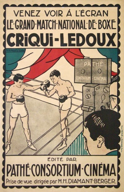 For sale: CRIQUI-LEDOUX GRAND MATCH NATIONAL DE BOXE