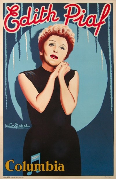 For sale: EDITH PIAF LABEL COLOMBIA - AFFICHE ANCIENNE