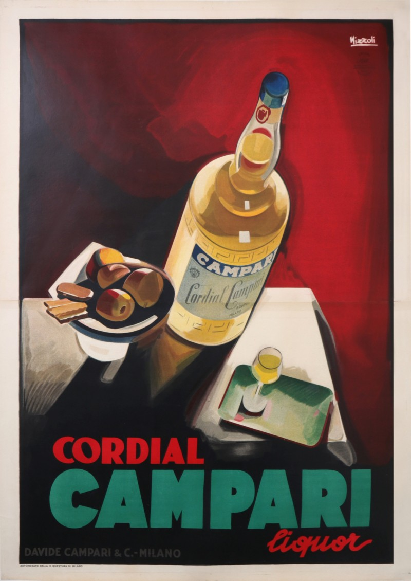For sale: CORDIAL CAMPARI LIQUOR
