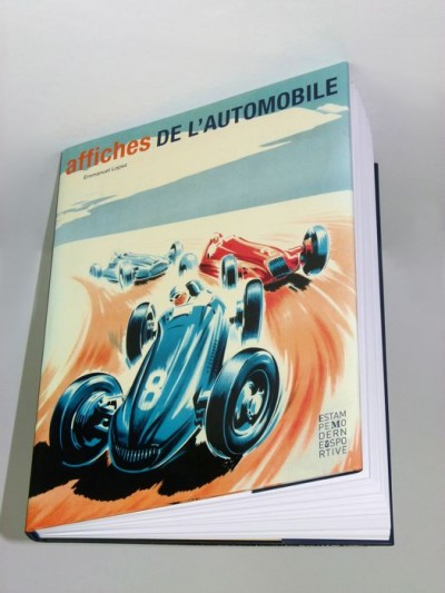 For sale: LIVRE AFFICHES DE L'AUTOMOBILE PAR E. LOPEZ