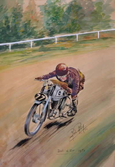 For sale: BOL D'OR 1950 AQUARELLE ORIGINALE