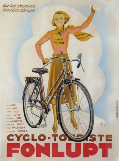 For sale: CYCLO-TOURISTE FONLUPT