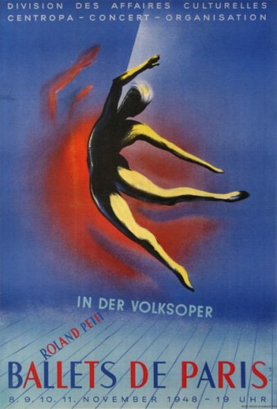 For sale: IN DER VOLKSOPER BALLETS DE PARIS ROLAND PETIT