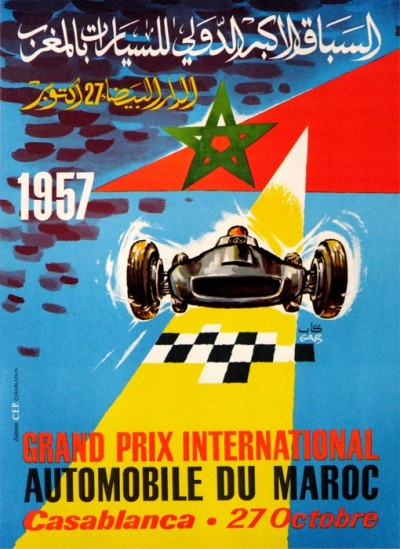 For sale: GRAND PRIX INTERNATIONAL AUTOMOBILE DU MAROC 1957