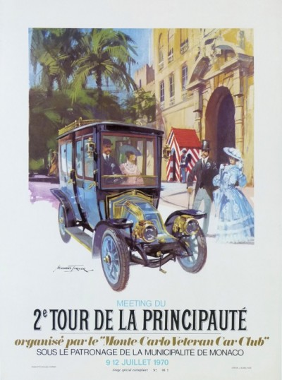 For sale: MICHAEL TURNER MEETING DU 2e TOUR DE LA PRINCIPAUTE 1970 Exemplaire No 007