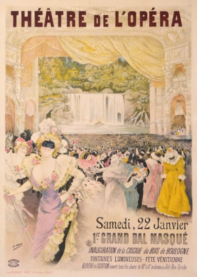 For sale: THEATRE DE L OPERA  1ER GRAND BAL MASQUE
